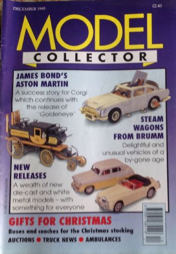ORIGINAL MODEL COLLECTOR MAGAZINE December 1995